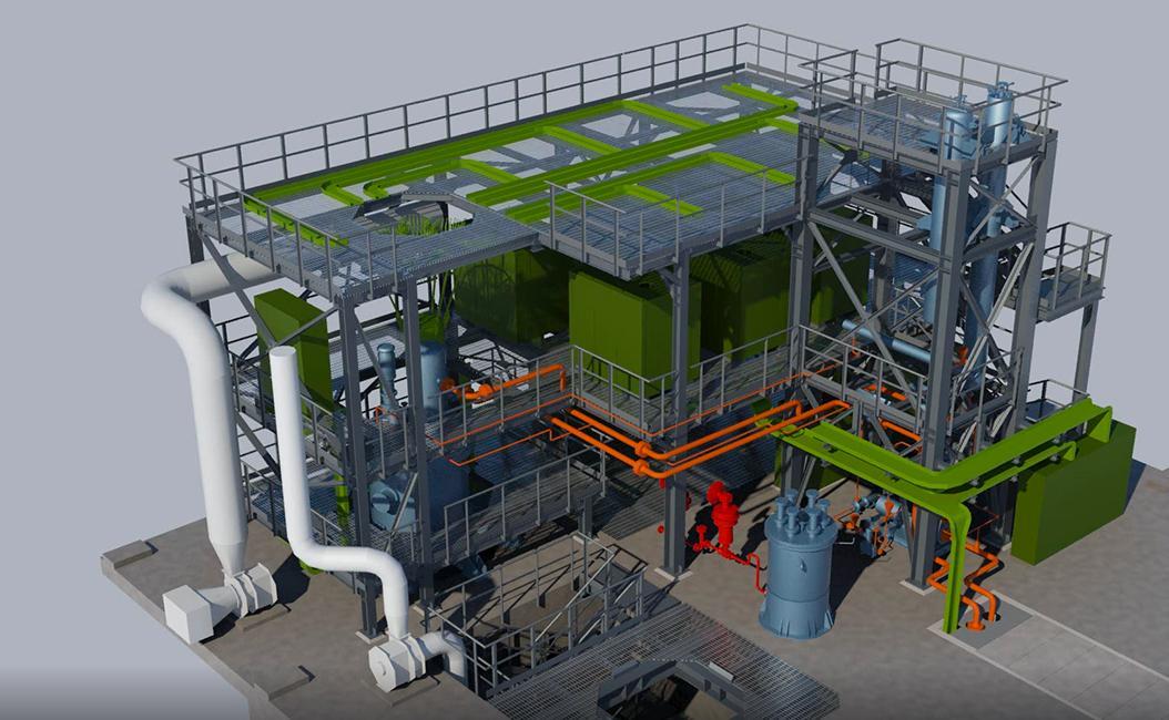 3D impianto LFR
