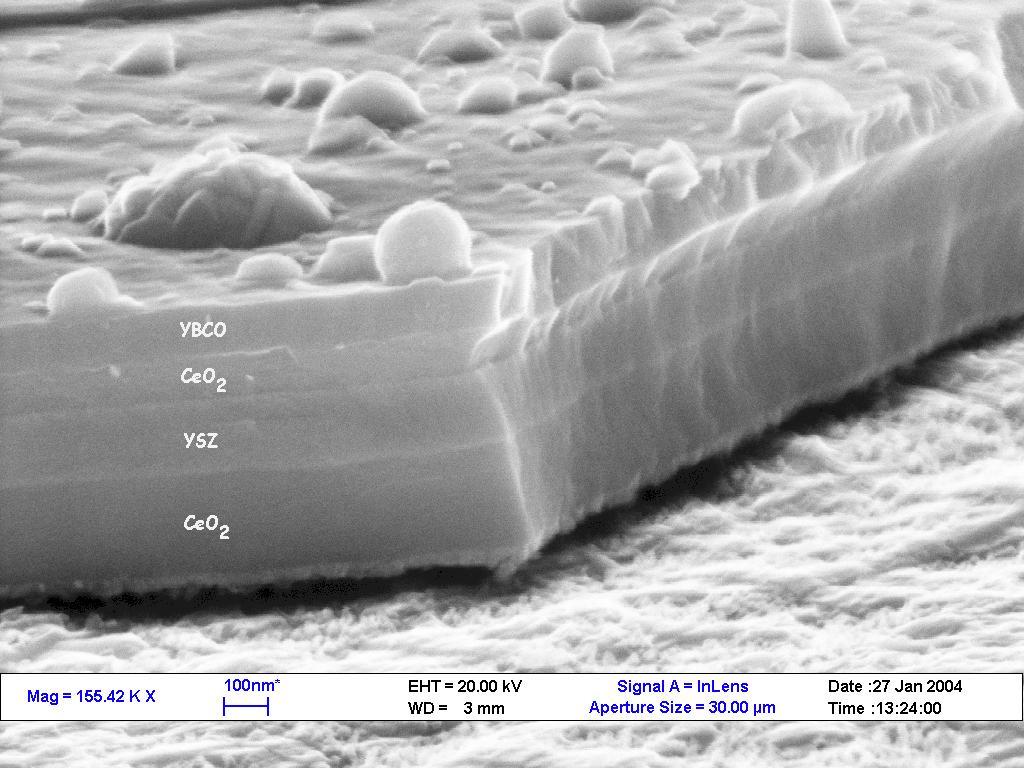 superconduttore al microscopio